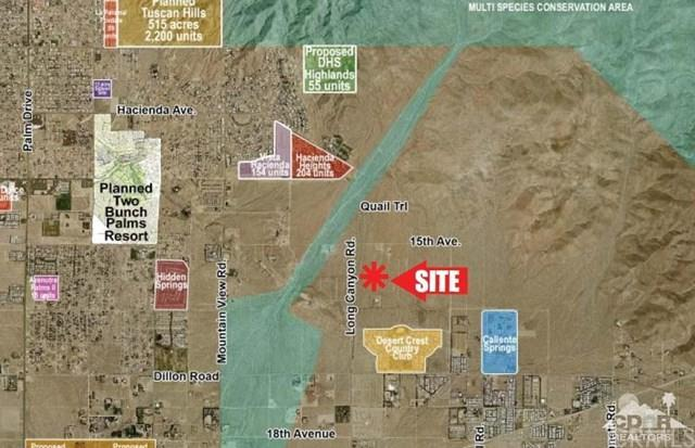 Long Canyon & 16th Ave, Sky Valley, CA 92241 (#219019377DA) :: Fred Sed Group