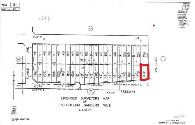 0 170th Street, Artesia, CA 90701 (#SB19169179) :: Harmon Homes, Inc.