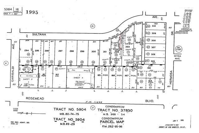 0 Sultana, Temple City, CA 91780 (#SB19169308) :: Z Team OC Real Estate
