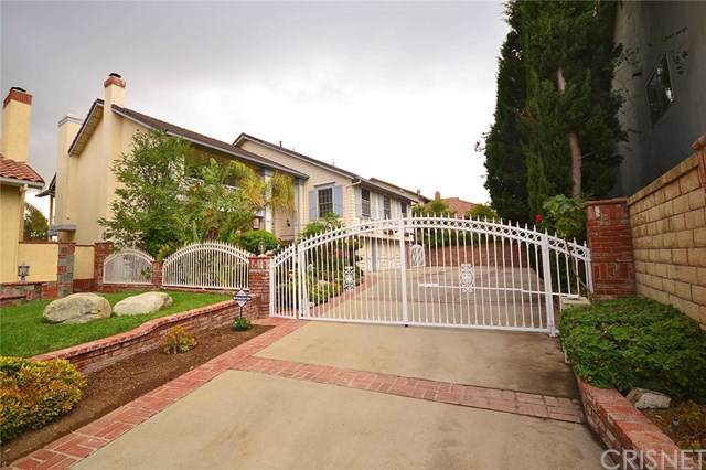18706 Stonehaven Court, Porter Ranch, CA 91326 (#SR19168540) :: The Parsons Team