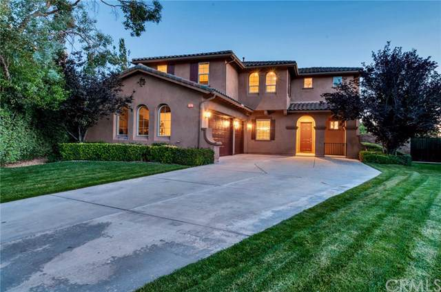 34027 Castle Pines Drive, Yucaipa, CA 92399 (#EV19171903) :: Fred Sed Group