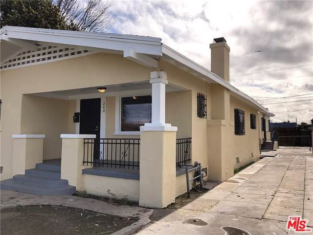 240 W 82ND Street, Los Angeles (City), CA 90003 (#19490744) :: Heller The Home Seller