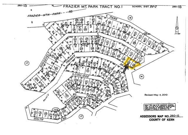 0 Vac/Lot Truman Trail, Frazier Park, CA  (#SR19176284) :: RE/MAX Parkside Real Estate