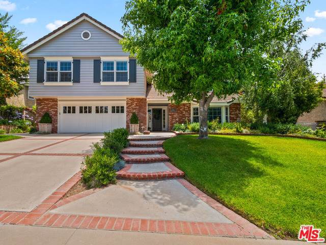 5756 Green Meadow Drive, Agoura Hills, CA 91301 (#19498622) :: The Laffins Real Estate Team