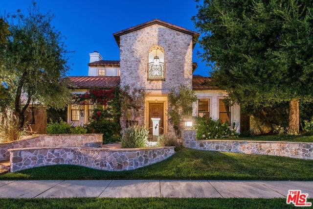 3930 Prado Del Trigo, Calabasas, CA 91302 (#19499902) :: Allison James Estates and Homes