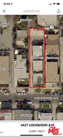 4437-1/2 Lockwood Avenue, Los Angeles (City), CA 90029 (#19499790) :: The Laffins Real Estate Team