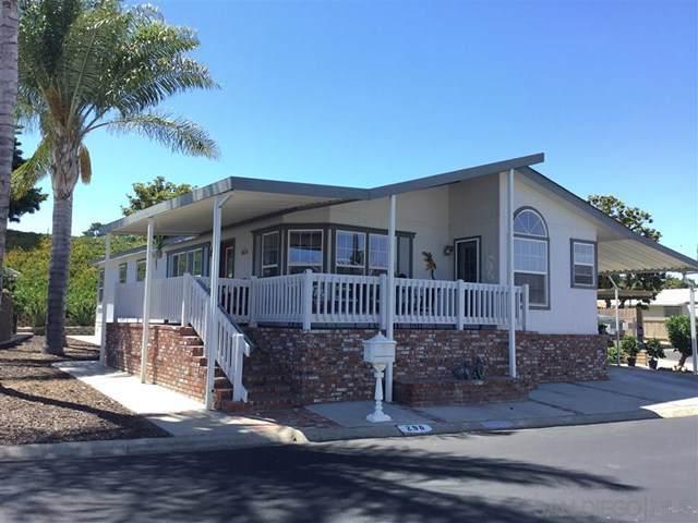 525 W El Norte Pkwy #296, Escondido, CA 92026 (#190045516) :: California Realty Experts
