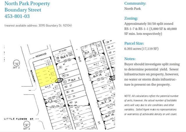 0 Boundary St., San Diego, CA 92104 (#190045708) :: McLain Properties