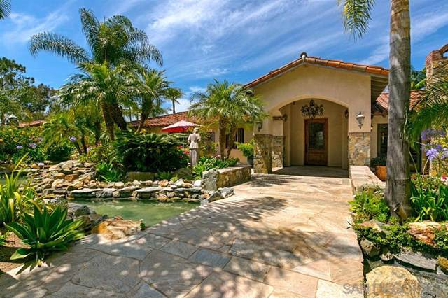 18351 Via De Las Flores, Rancho Santa Fe, CA 92067 (#190045824) :: The Laffins Real Estate Team