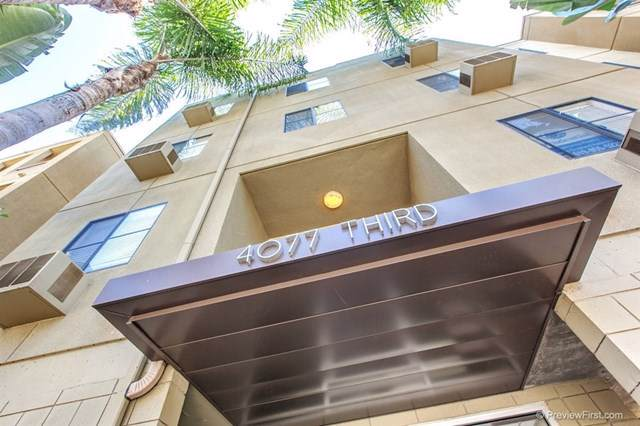 4077 3rd Ave #107, San Diego, CA 92103 (#190046046) :: Rogers Realty Group/Berkshire Hathaway HomeServices California Properties
