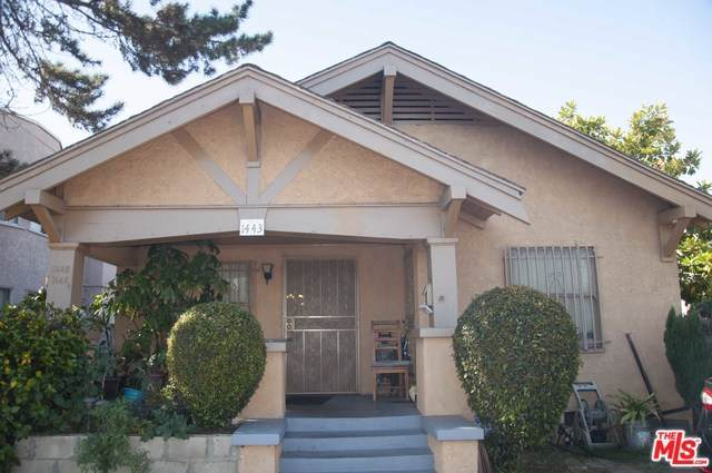 1443 W Vernon Avenue, Los Angeles (City), CA 90062 (#19500954) :: Z Team OC Real Estate