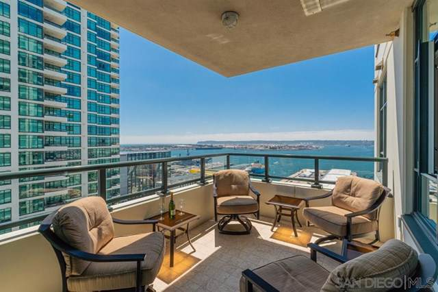 1205 Pacific Hwy #2605, San Diego, CA 92101 (#190046274) :: Blake Cory Home Selling Team