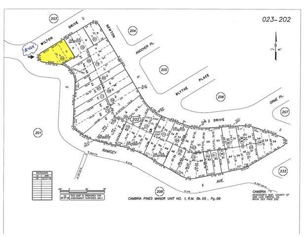 0 Wilton Drive, Cambria, CA 93428 (#SC19199131) :: McLain Properties