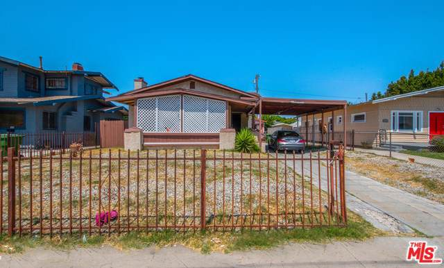 1837 W 48TH Street, Los Angeles (City), CA 90062 (#19501298) :: The Laffins Real Estate Team
