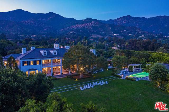 700 Picacho Lane, Montecito, CA 93108 (#19501782) :: Rogers Realty Group/Berkshire Hathaway HomeServices California Properties