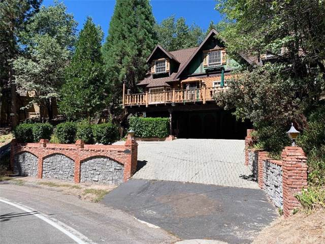 180 Brentwood Drive, Lake Arrowhead, CA 92352 (#SR19199690) :: Rogers Realty Group/Berkshire Hathaway HomeServices California Properties