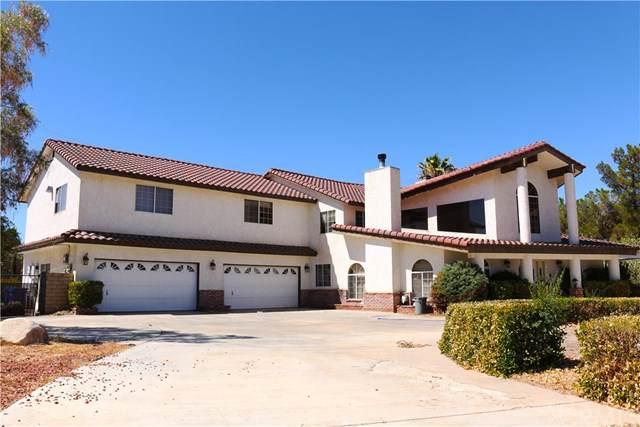 19385 Oshkosh Road, Apple Valley, CA 92307 (#CV19201815) :: The Laffins Real Estate Team