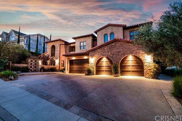 22401 W South Summit Ridge Circle, Chatsworth, CA 91311 (#SR19201328) :: The Brad Korb Real Estate Group