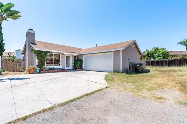 1694 Jonathon Street, Vista, CA 92083 (#SW19201925) :: Fred Sed Group