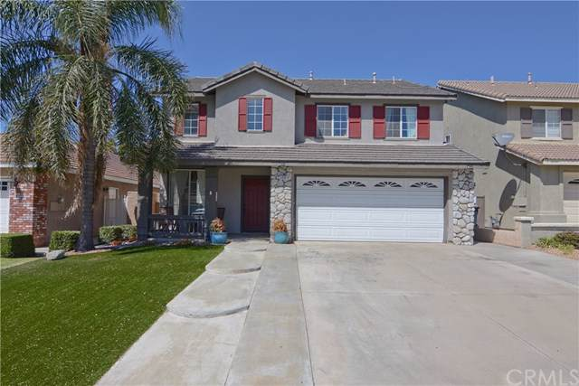 5450 Tenderfoot Drive, Fontana, CA 92336 (#CV19203166) :: The Laffins Real Estate Team