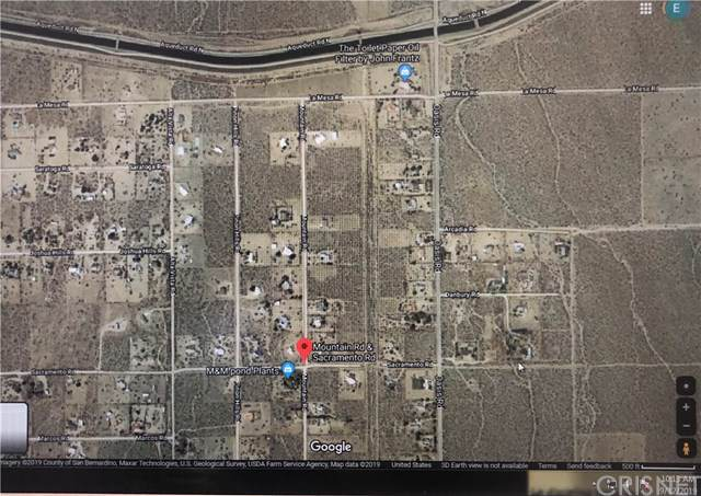0 Mountain Rd, Pinon Hills, CA 92372 (#SR19216793) :: Fred Sed Group