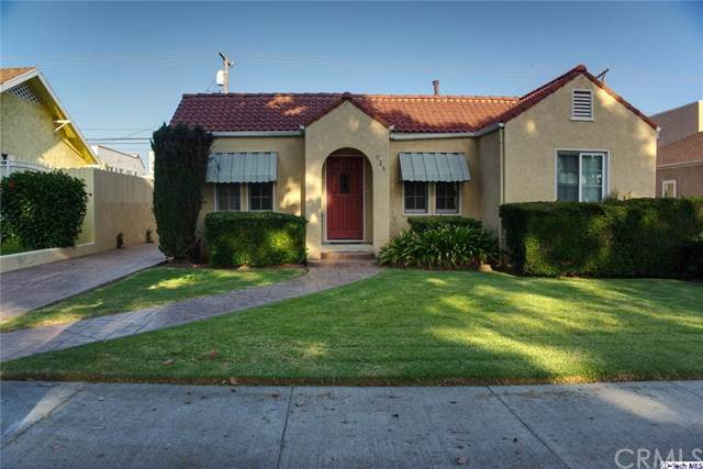 726 Wing Street, Glendale, CA 91205 (#319003708) :: The Brad Korb Real Estate Group