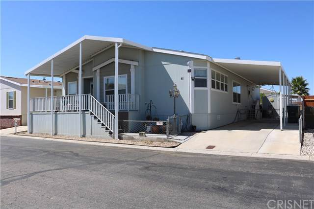 1550 20th St W #78, Rosamond, CA 93550 (#SR19219085) :: RE/MAX Estate Properties