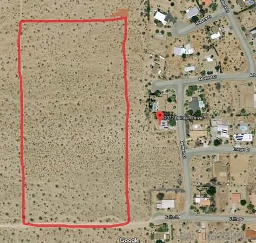Borrego Springs, CA 92004 :: RE/MAX Estate Properties
