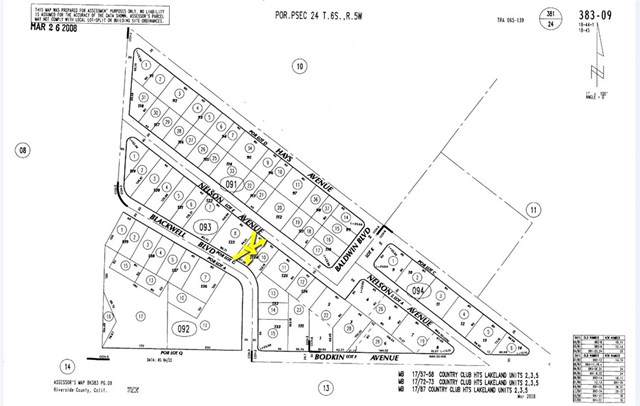 0 Nelson, Lake Elsinore, CA  (#CV19220388) :: California Realty Experts