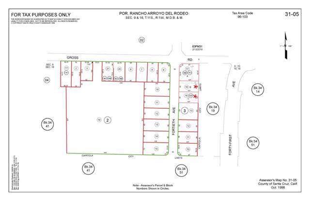 0 40th Avenue, Santa Cruz, CA 95062 (#ML81768905) :: Crudo & Associates