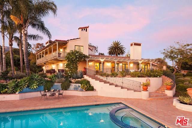 2615 Foothill Lane, Santa Barbara, CA 93105 (#19511840) :: RE/MAX Masters