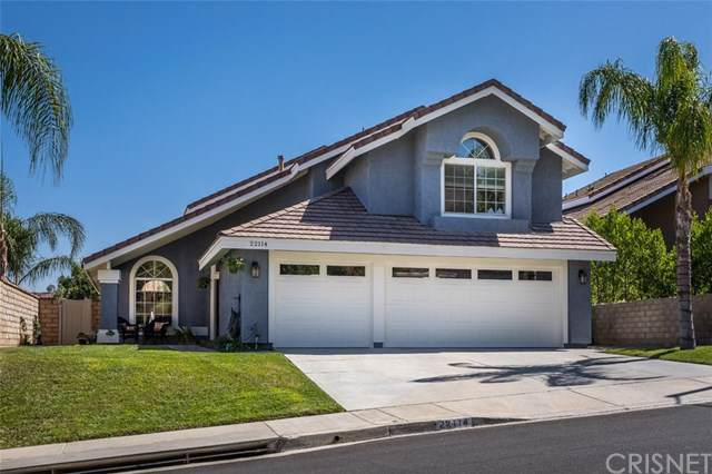 22114 Scallion Drive, Saugus, CA 91350 (#SR19223268) :: The Laffins Real Estate Team