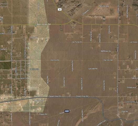 0 Bowen Ranch/Power Line Road, Apple Valley, CA 92308 (#517906) :: Realty ONE Group Empire