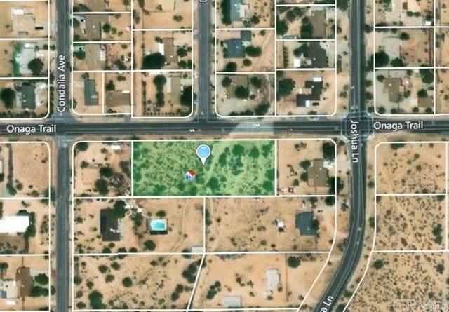 57157 Onaga Trail, Yucca Valley, CA  (#JT19226142) :: RE/MAX Empire Properties