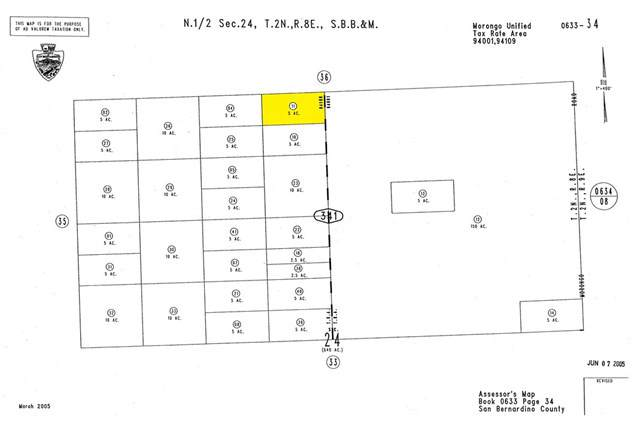 0 Wheeler Road, 29 Palms, CA  (#SW19226450) :: The Houston Team | Compass