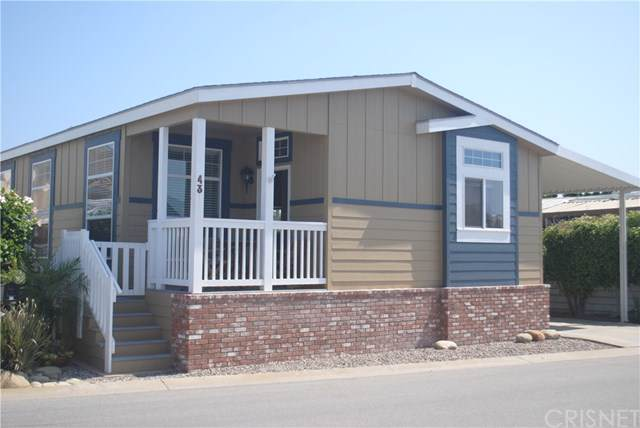5540 W 5th Street #43, Oxnard, CA 93035 (#SR19231158) :: Harmon Homes, Inc.