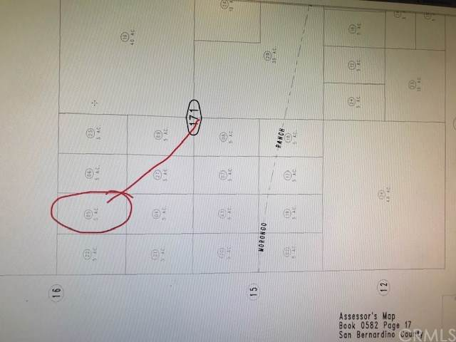 0 Oskar, Morongo Valley, CA 92256 (#SW19226309) :: Sperry Residential Group