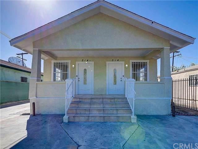 514-514 1/2 E 89th Street, Los Angeles (City), CA 90003 (#CV19239412) :: Z Team OC Real Estate