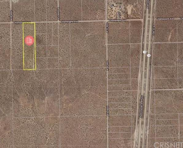 0 Champagne Avenue, Rosamond, CA  (#SR19240536) :: Powerhouse Real Estate
