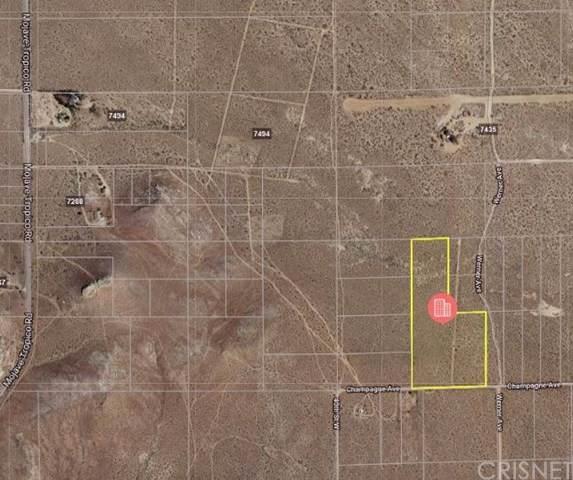 0 Champagne, Rosamond, CA  (#SR19240643) :: Powerhouse Real Estate