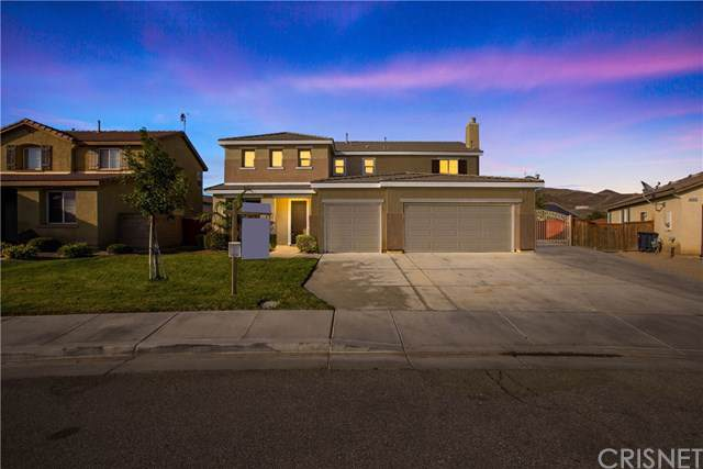 3445 Quiet Splendor Court, Rosamond, CA 93560 (#SR19242445) :: Millman Team