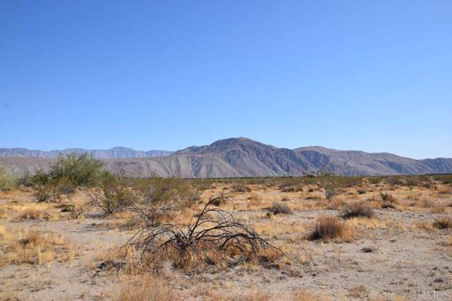 Indian Head Ranch Road, Borrego Springs, CA 92004 (#190056446) :: J1 Realty Group