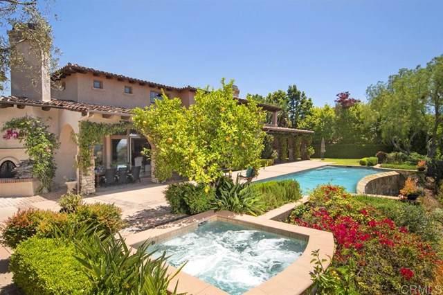 18380 Calle La Serra, Rancho Santa Fe, CA 92091 (#190056522) :: J1 Realty Group