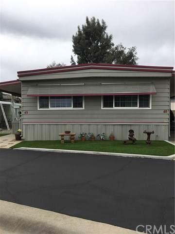 8651 Foothill Boulevard #49, Rancho Cucamonga, CA 91730 (#CV19243820) :: RE/MAX Masters