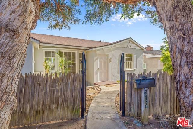 2336 Pier Avenue, Santa Monica, CA 90405 (#19519912) :: Keller Williams | Angelique Koster