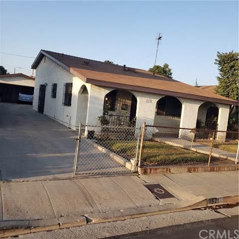 1521 E Grant Street, Wilmington, CA 90744 (#PW19243771) :: Legacy 15 Real Estate Brokers