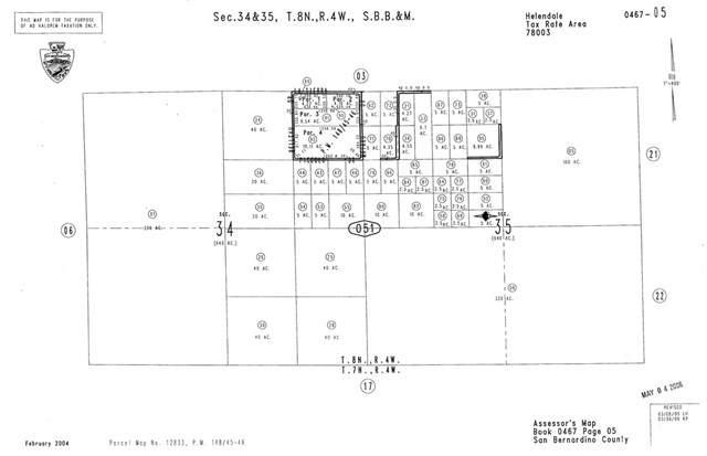 0 Sunrise, Helendale, CA  (#CV19246681) :: Rogers Realty Group/Berkshire Hathaway HomeServices California Properties