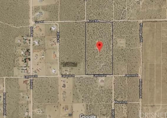 0 Cayucos Drive, Phelan, CA 92371 (#SR19247120) :: Better Living SoCal
