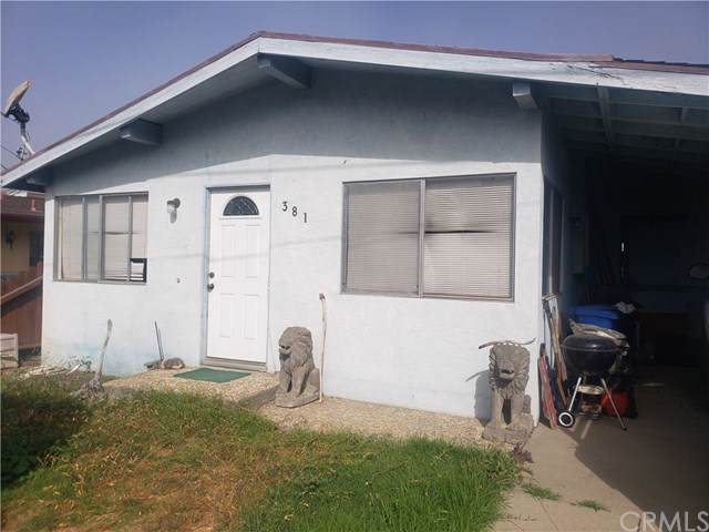 381 Rennell Street, Morro Bay, CA 93442 (#SC19247339) :: Keller Williams Realty, LA Harbor