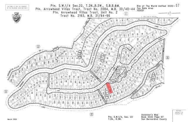 0 Ivy Lane, Lake Arrowhead, CA 92352 (#CV19248476) :: Provident Real Estate